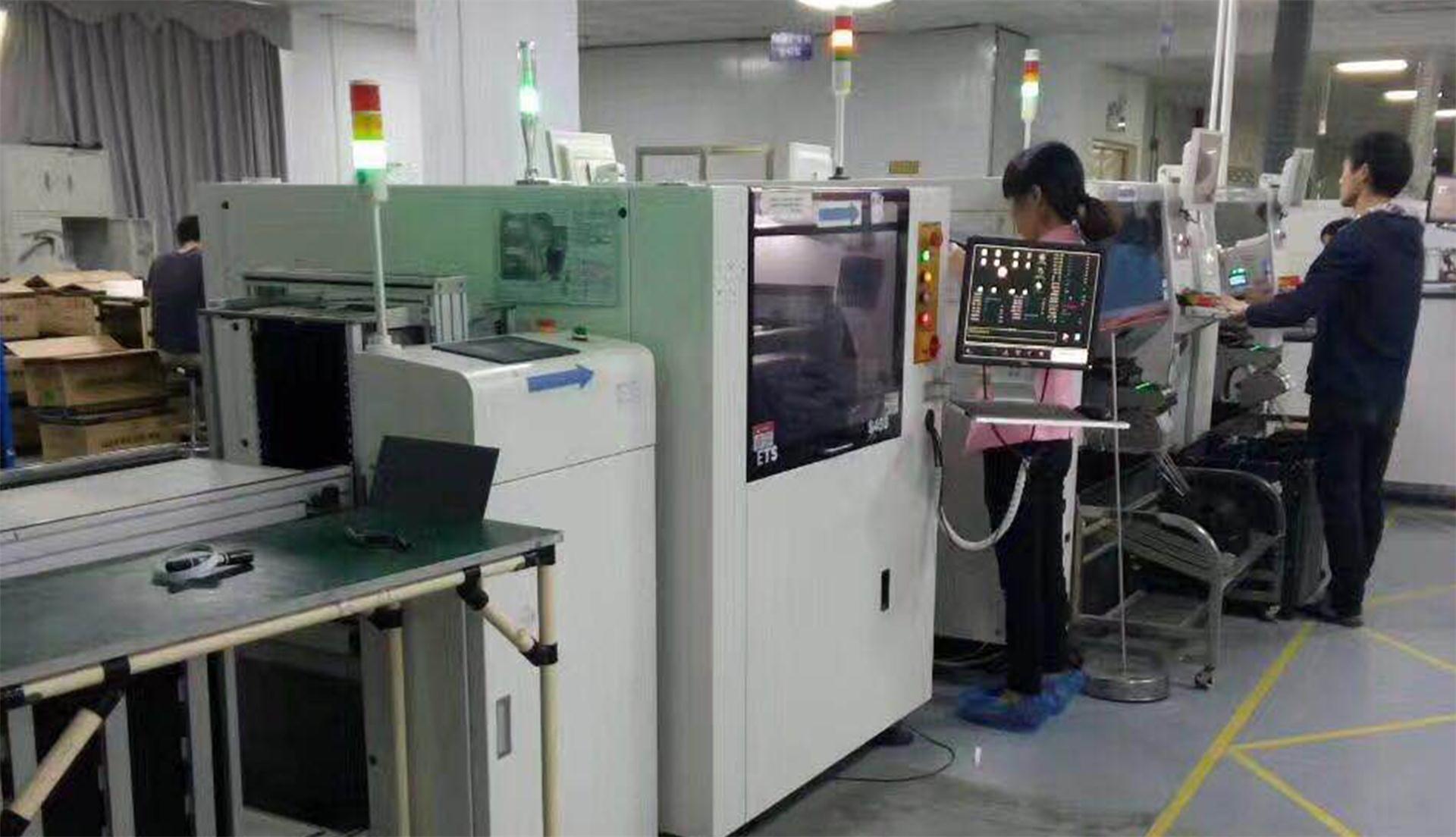 led显示屏生产车间