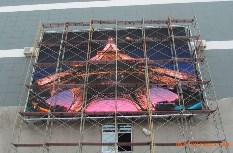 钢架构LED屏防雷